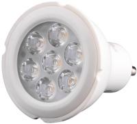 Лампочка Brille LED GU10 6W 6 pcs WW MR16-PA (L155-001)