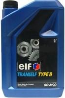 Трансмиссионное масло ELF Tranself Type B 80W-90 2л