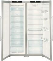 Холодильник Liebherr SBSes 7252 нержавеющая сталь