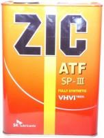 Трансмиссионное масло ZIC ATF SP-III 4л