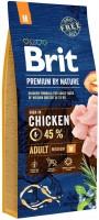 Корм для собак Brit Premium Adult M 15кг