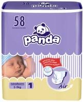Подгузники Panda Diapers 1 / 58 pcs