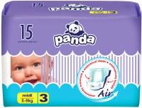 Фото - Подгузники Panda Diapers 3 / 15 pcs