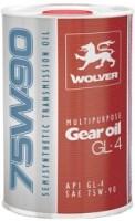 Трансмиссионное масло Wolver Multipurpose Gear Oil GL-4 75W-90 1L