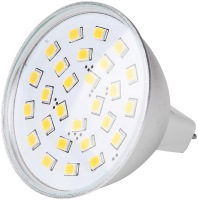 Фото - Лампочка Brille LED GU5.3 3.8W 27 pcs CW MR16 (L27-054)