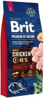 Корм для собак Brit Premium Adult L 15кг