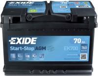 Автоаккумулятор Exide Start-Stop AGM