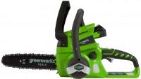 Пила Greenworks G24CS25K2