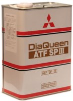 Трансмиссионное масло Mitsubishi DiaQueen ATF SP-III 4л