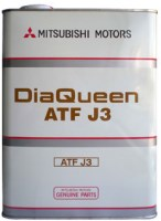 Фото - Трансмиссионное масло Mitsubishi DiaQueen ATF  J3 4L 4л