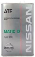 Фото - Трансмиссионное масло Nissan Matic Fluid D 4л