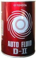 Трансмиссионное масло Toyota Auto Fluid D-II 1л