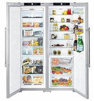 Холодильник Liebherr SBSes 7263 нержавеющая сталь