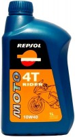 Моторное масло Repsol Moto Rider 4T 10W-40 1л