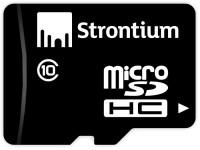Карта памяти Strontium microSDHC Class 10 16Gb