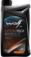 Фото - Трансмиссионное масло WOLF Extendtech 80W-90 GL5 1л