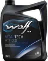 Трансмиссионное масло WOLF Vitaltech ATF DIII 5л