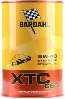 Моторное масло Bardahl XTC C60 5W-40 1л