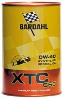 Моторное масло Bardahl XTC C60 0W-40 1L 1л