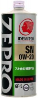 Моторное масло Idemitsu Zepro Eco Medalist 0W-20 1л