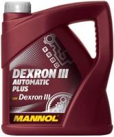 Фото - Трансмиссионное масло Mannol Dexron III Automatic Plus 4л