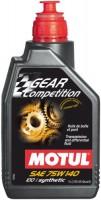 Трансмиссионное масло Motul Gear Competition 75W-140 1L