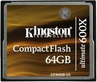 Фото - Карта памяти Kingston CompactFlash Ultimate 600x  64ГБ