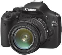 Фотоаппарат Canon EOS 550D kit 18-135
