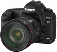 Фотоаппарат Canon EOS 5D Mark II  kit 50