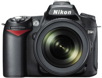 Фото - Фотоаппарат Nikon D90  kit 18-105