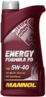Моторное масло Mannol Energy Formula PD 5W-40 1л
