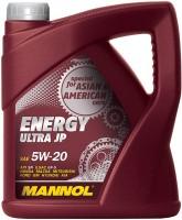 Моторное масло Mannol Energy Ultra JP 5W-20 4л