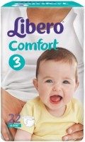 Подгузники Libero Comfort 3 / 62 pcs