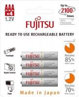 Аккумуляторная батарейка Fujitsu  4xAAA 750 mAh