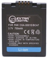 Фото - Аккумулятор для камеры Extra Digital Panasonic S001E/DMW-BCA7