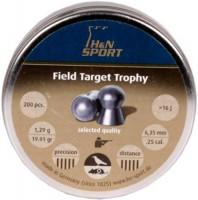 Кулі й патрони Haendler & Natermann Field Target Trophy 6.35 mm 1.29 g 200 pcs