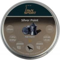 Пули и патроны Haendler & Natermann Silver Point 6.35 mm 1.58 g 200 pcs