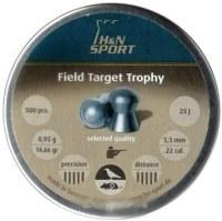 Пули и патроны Haendler & Natermann Field Target Trophy 5.5 mm 0.95 g 500 pcs