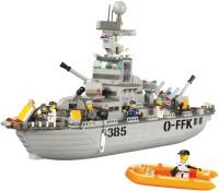 Фото - Конструктор Sluban Cruiser Navy M38-B0126