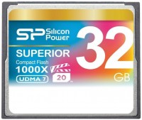 Карта памяти Silicon Power Superior CompactFlash 1000X 32Gb