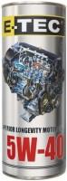 Моторное масло E-TEC EVO 5W-40 1л