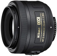 Фото - Объектив Nikon 35mm f/1.8G AF-S DX Nikkor