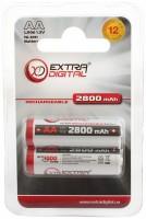 Фото - Аккумулятор / батарейка Extra Digital  2xAA 2800 mAh