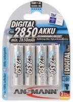 Аккумуляторная батарейка Ansmann Digital 4xAA 2850 mAh