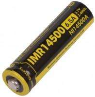 Аккумуляторная батарейка Nitecore NL 14500A 650 mAh