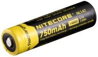 Аккумуляторная батарейка Nitecore NL147 750 mAh
