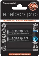 Аккумуляторная батарейка Panasonic Eneloop Pro  2xAA 2500 mAh