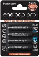 Аккумуляторная батарейка Panasonic Eneloop Pro  4xAA 2500 mAh