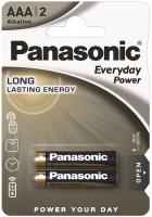 Фото - Аккумулятор / батарейка Panasonic Everyday Power  2xAAA
