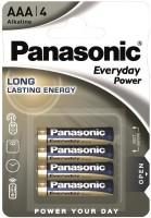 Фото - Аккумулятор / батарейка Panasonic Everyday Power  4xAAA